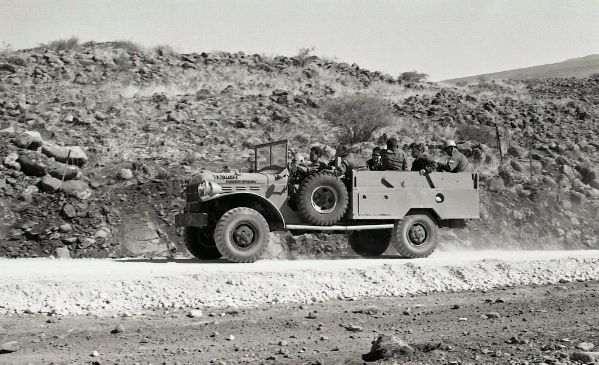 Israeli Dodge Power Wagon, during Six Day War period
