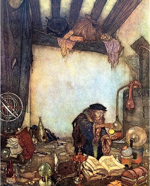 Edmund Dulac Alchemist