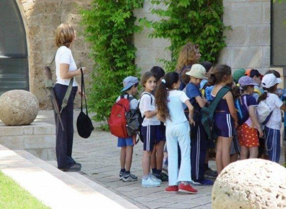 Armed Israeli teacher
