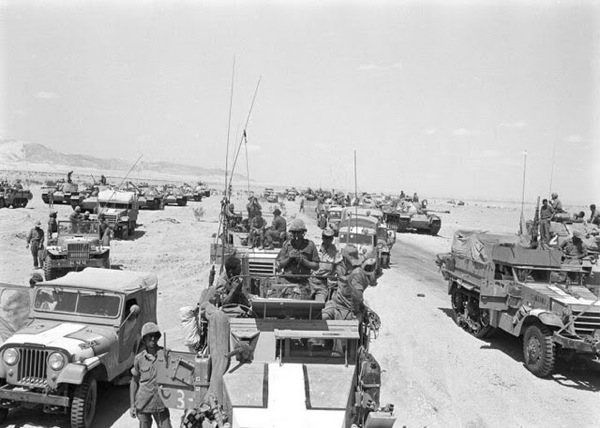 M3 Halftracks, Sinai, Six Day War