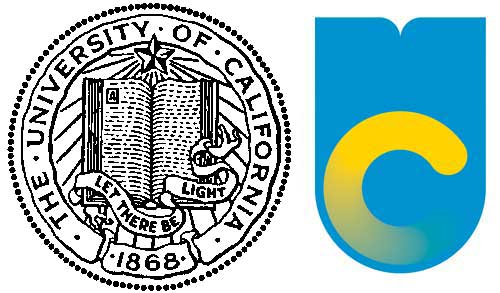 Univ of California logos new and old