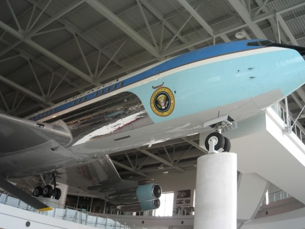 Air Force One at Reagan Library