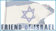Friend of Israel emblem