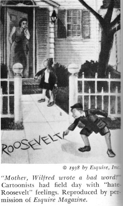 anti-Roosevelt cartoon