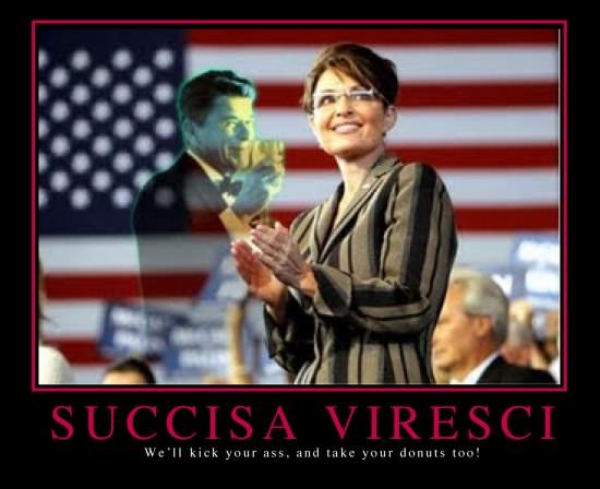 Sarah Palin motivator poster