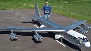Giant model B-52