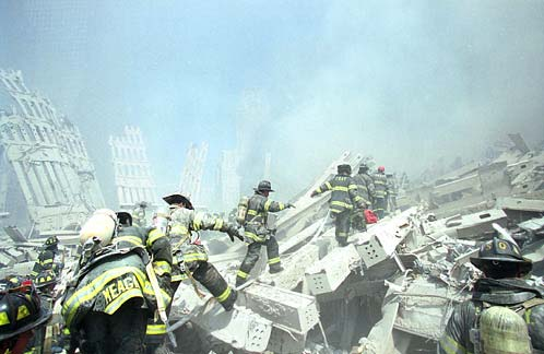 fireman at the WTC