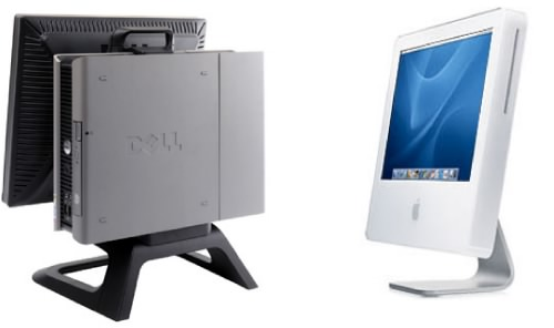 Dell and Imac compared