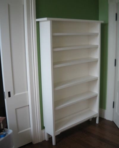 Bookcase in Maine Cottage Style