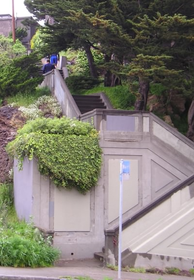 SF stair, 17th to Upper Terrace