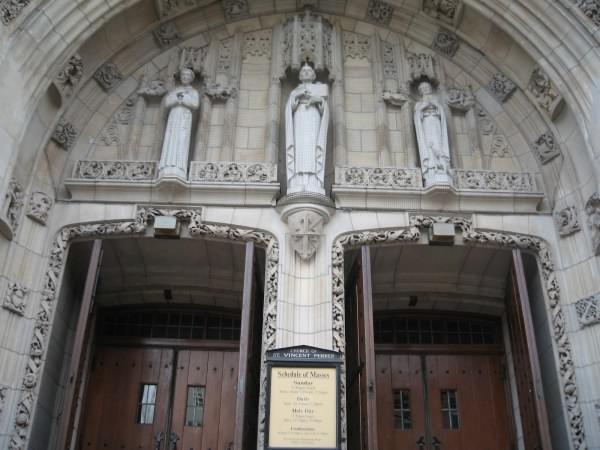 St Vincent Ferrer church, NYC