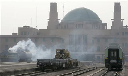 Baghdad's green-domed Central railway station