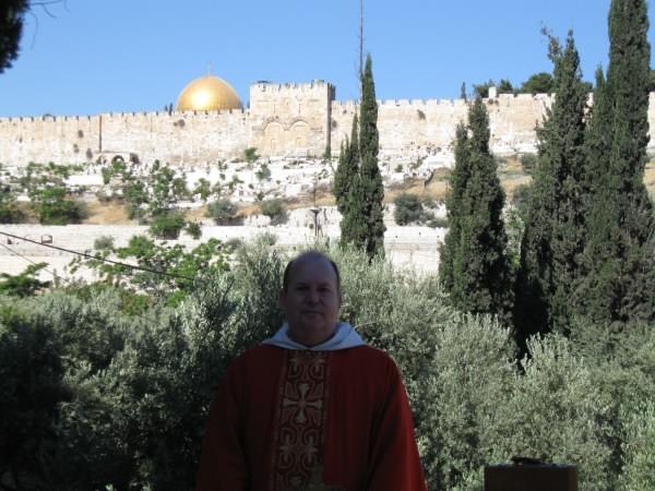 Fr Francis, Mass, Garden of Gethsemane