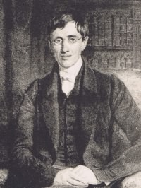 JH Newman portrait, engraving by R Woodman, after portrait by Sir WC Ross