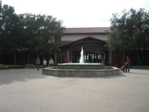 Reagan Library entrance
