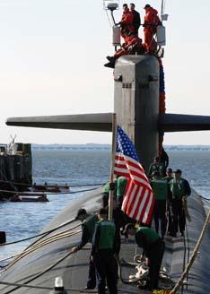 Submarine USS Jacksonville