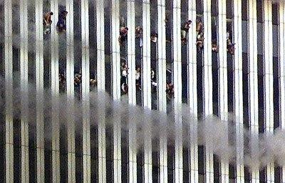 People trapped in the World Trade Center